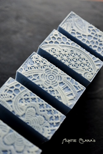 Blue Wedgewood Handcrafted soap by Auntie Clara's