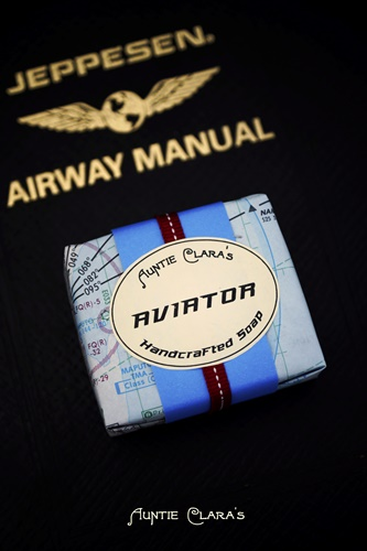 Aviator Soap by Auntie Clara's