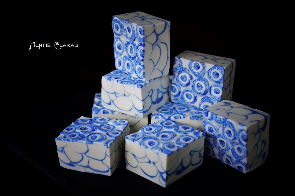 Inlay Agateware Soap by Auntie Clara's