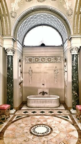 Napoleon's bathroom in Palazzo Pitti, Florence