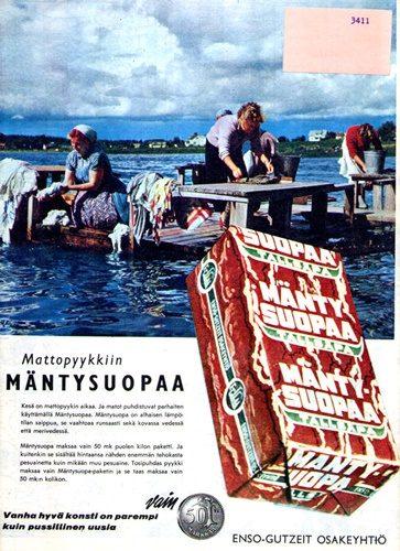 Havu Mäntysuopa advert