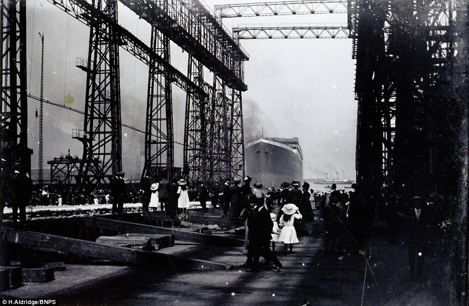 Titanic Slipway
